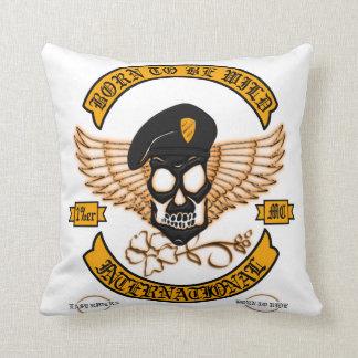 Biker Badge Cushion