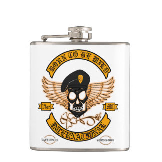 Biker Badge Flasks
