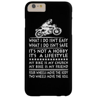 Biker Barely There iPhone 6 Plus Case