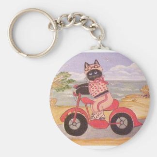 BIKER BETTY KEY RING