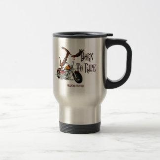 Biker Born To Ride 1 Coffee Mugs