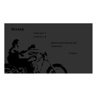 Biker Business Card Template