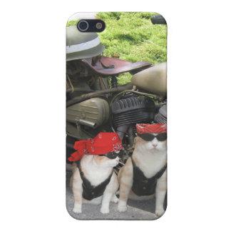 Biker Cats iPhone 5/5S Cases