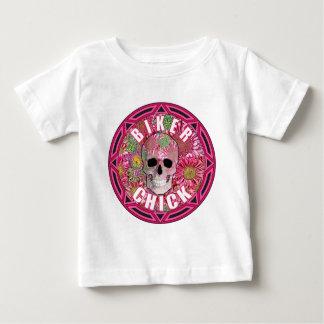 Biker Chick 001 Baby T-Shirt
