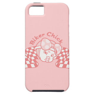 Biker Chick 914 iPhone 5/5S Covers