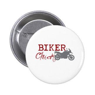 Biker Chick Pin