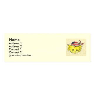 biker chick business card