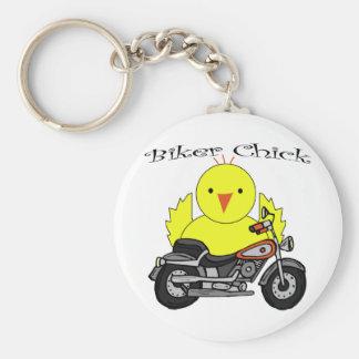 Biker Chick Keychains