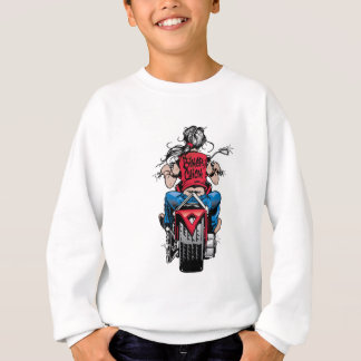 Biker Chick Sweatshirt
