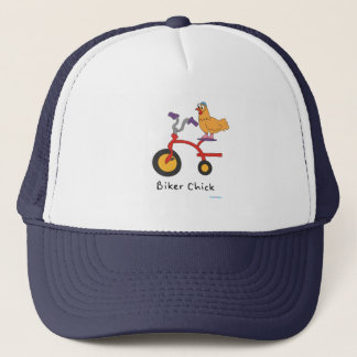 Biker Chick Trucker Hat