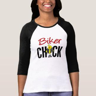 Biker Chick T Shirts