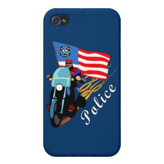 Biker Cops Cases For iPhone 4