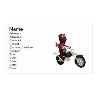 Biker Devil Business Card Template
