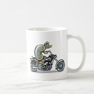 Biker Dillo Coffee Mug