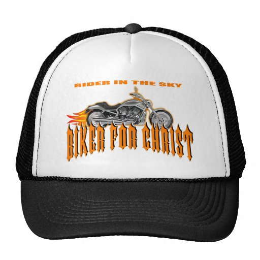 Biker For Christ Hat