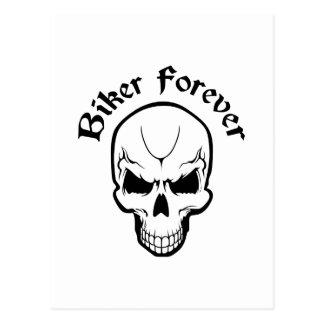 BIKER FOREVER POSTCARDS