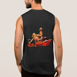 Biker Halloween Clothing Sleeveless Shirt