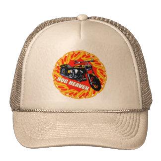 Biker Hog Heaven T-shirts and Gifts Cap