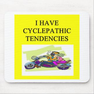 biker humor mouse mat