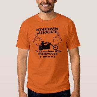 Biker Known Associate Tee Shirt