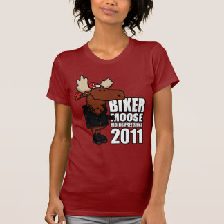 Biker Moose Ladies Tee