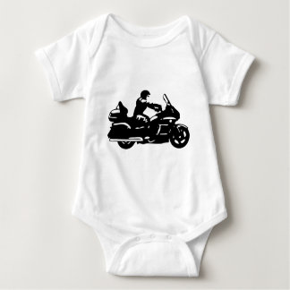 biker motorcycle moto goldwing baby bodysuit