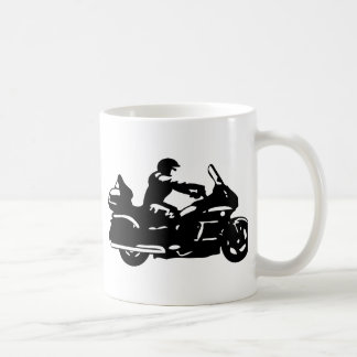 biker motorcycle moto goldwing coffee mug