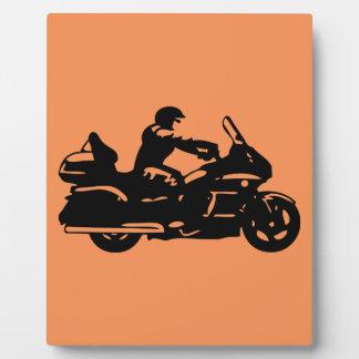 biker motorcycle moto goldwing photo plaques