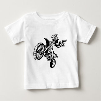 Biker Motorcycle Motocross Baby T-Shirt