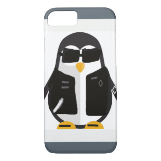 Biker penguin iPhone 8/7 case