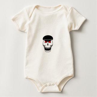 Biker Skull Baby Bodysuit