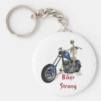 Biker Strong Key Ring