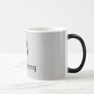 Biker Strong Morphing Mug
