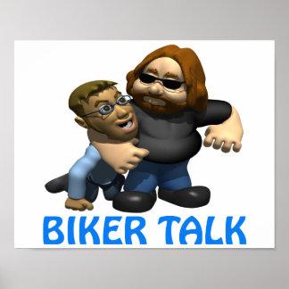Biker Talk Posters