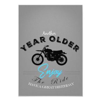 Biker year older card