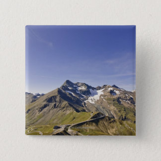 biker´s point, grossglockner 15 Cm Square Badge