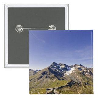 biker´s point, grossglockner 15 Cm Square Badge