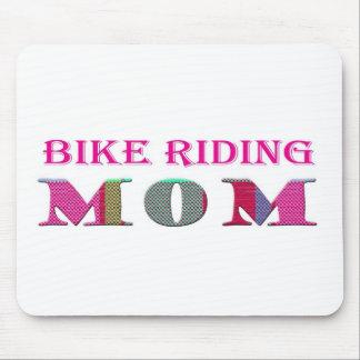 BikeRidingMom Mousepad