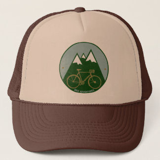 bikers adventure, mountains cap