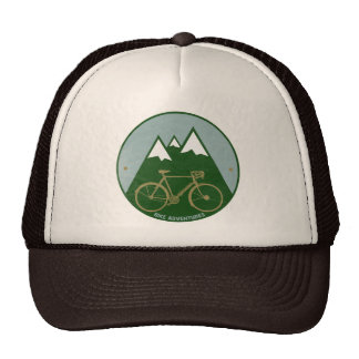 bikers adventure, mountains cap