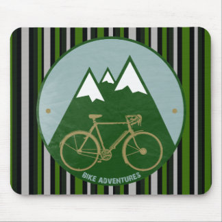 bikers adventure, mountains mouse mat
