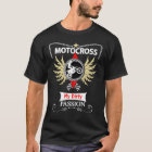 Bikers Motocross My Dirty Passion Text & Graphic T-Shirt