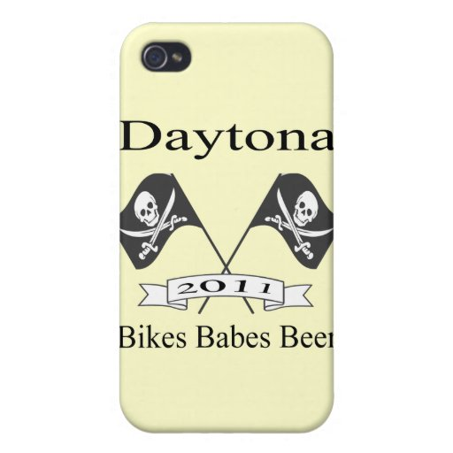 Bikes Babes Beer Cases For iPhone 4