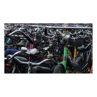 Bikes in Amsterdam Business Card Templates