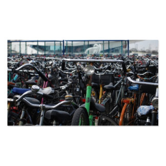 Bikes in Amsterdam Pack Of Standard Business Cards