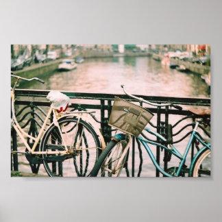 Bikes Of Amsterdam Poster
