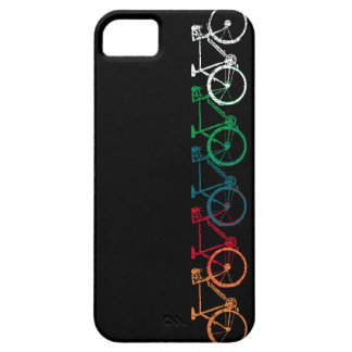 bikes of different colors iPhone 5 covers