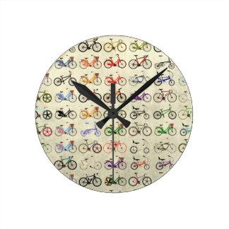 Bikes Round Clock