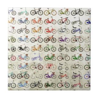 Bikes Ceramic Tile