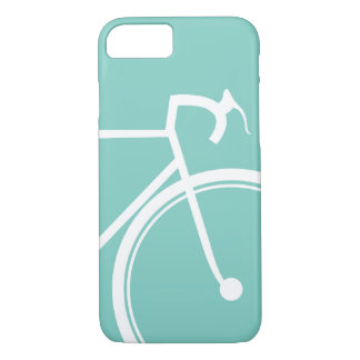 Biking Bikers Turquoise Blue iPhone 8/7 Case